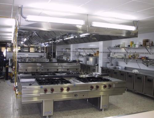 Neteja de cuines industrials