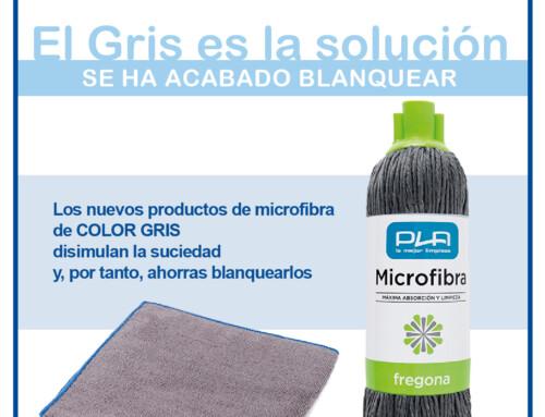 Nuevos productos de microfibra de COLOR GRIS