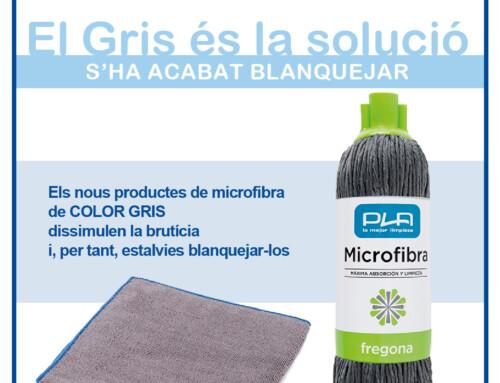 Nous productes de microfibra de COLOR GRIS