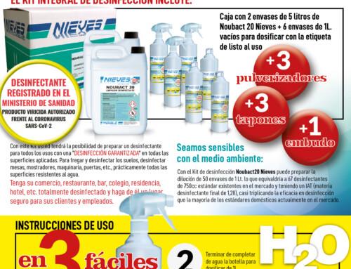 NOUBACT 20 – Desinfectant professional