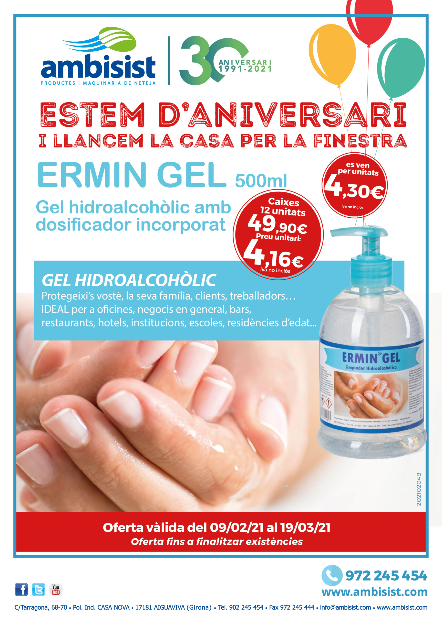 ERMIN GEL 500ml